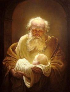 Simeon and Baby Jesus